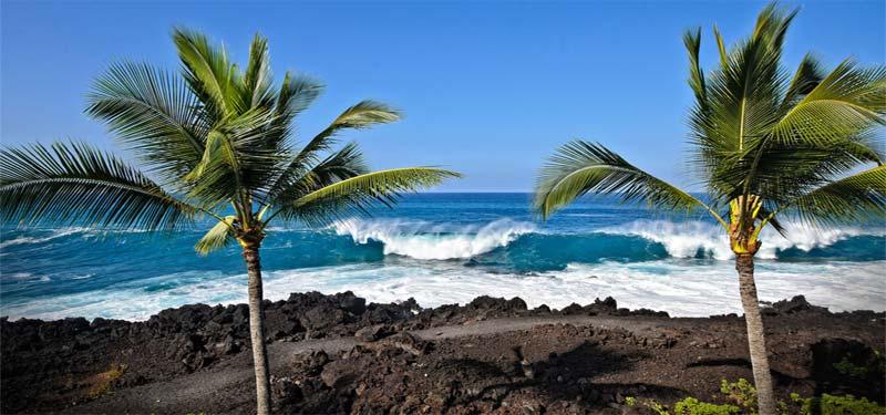 Keauhou Bay Beach Hawaii