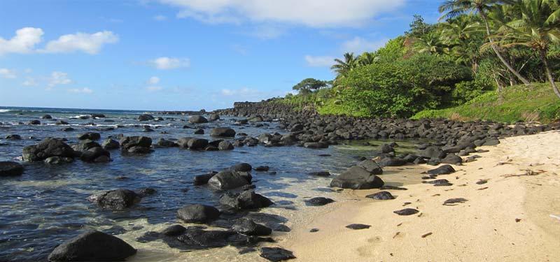 Pali Ke Kua Beach Hawaii
