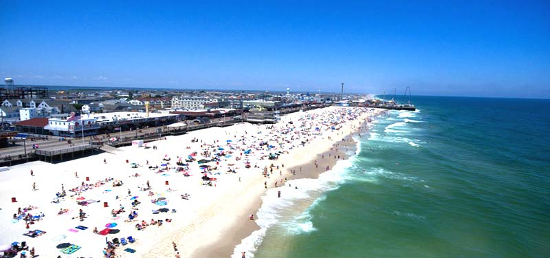 Seaside Heights Beach New Jersey