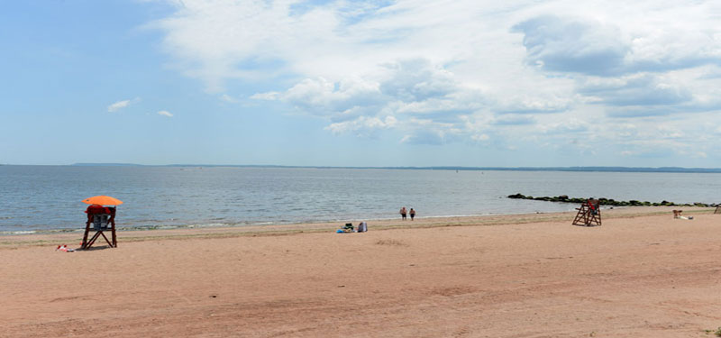 Orchard Beach In New York
